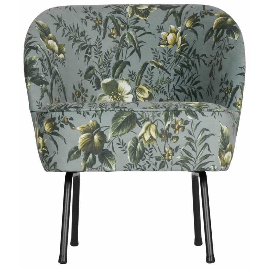 Tremendous Bepurehome Vogue Lounge Chair Floral Grey Squirreltailoven Fun Painted Chair Ideas Images Squirreltailovenorg