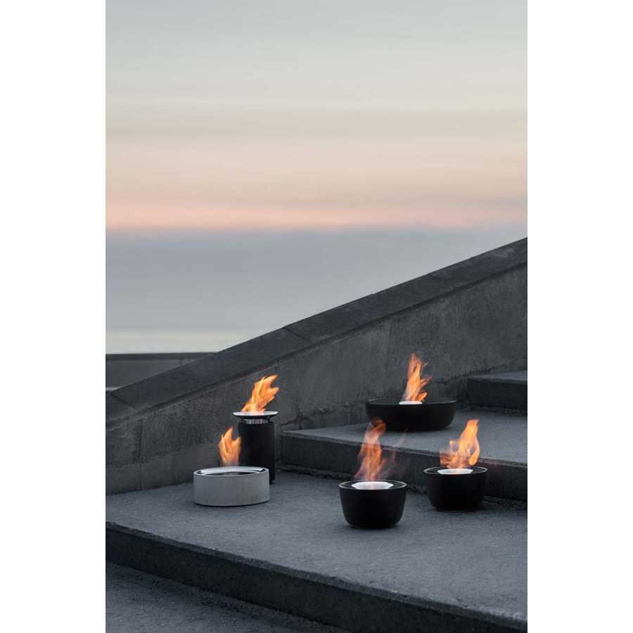 Pleasant Blomus Lumino Tabletop Fire Pit Home Interior And Landscaping Transignezvosmurscom