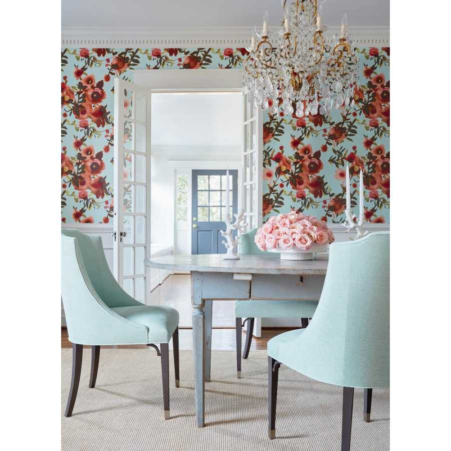 Thibaut Summer House Open Spaces T13086 Wallpaper