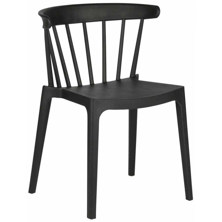 Superb Woood Bliss Outdoor Dining Chair Black Short Links Chair Design For Home Short Linksinfo