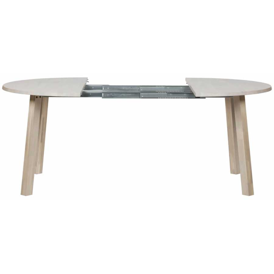 Woood Lange Extendable Round Dining Table